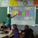 Utilisation de la frise chronologique en classe