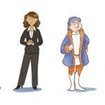 """Les 6 """"personnages métiers"""""""