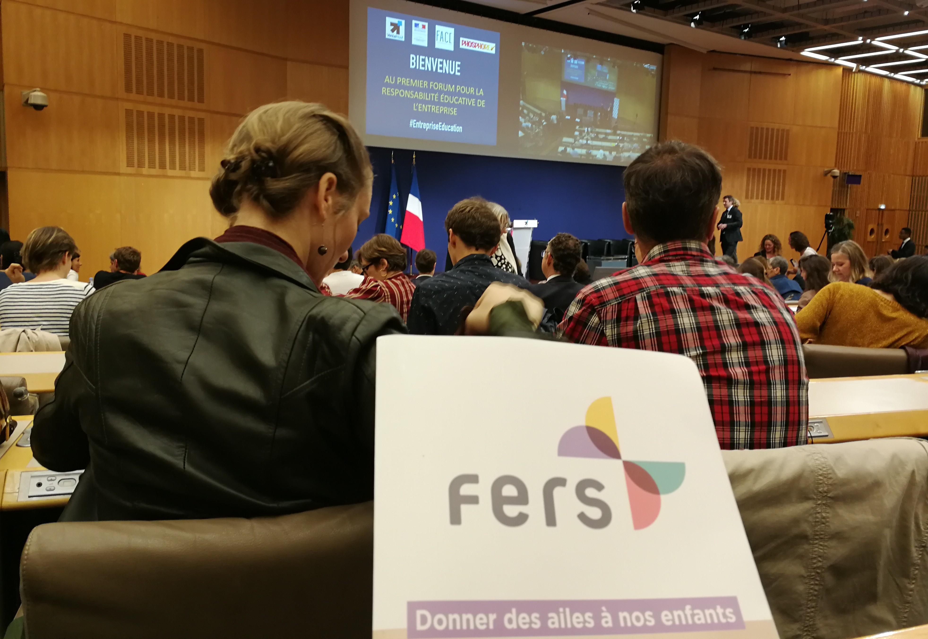 Forum pour la Responsabilité éducative des entreprises Paris le 12 juin 2018 - Vers le Haut